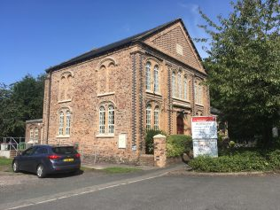 Horsehay Primitive Methodist chapel in 2018   Christopher Hill August 2018