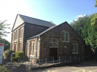 Horsehay Primitive Methodist chapel in 2018 from the north | Christopher Hill 2018