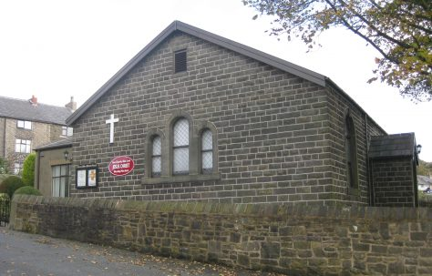 Horwich Moor Primitive Methodist Chapel Bottom-o'-th'-Moor Lancashire