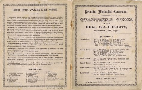 Hull Circuits I-VI 1897 Q4