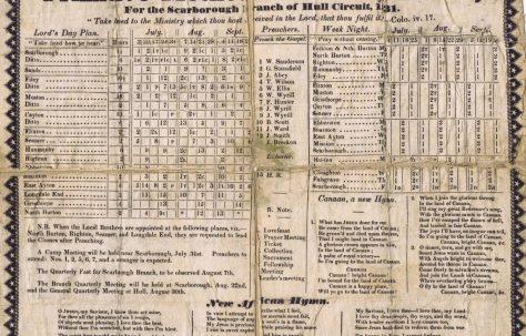 Hull Circuit (Scarborough Branch) 1831 Q3