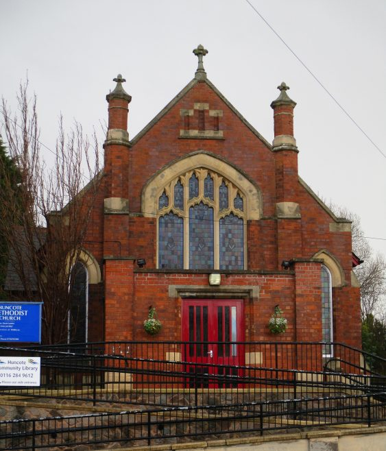 Huncote 1907 Primitive Methodist chapel front | Christopher Hill January 2018
