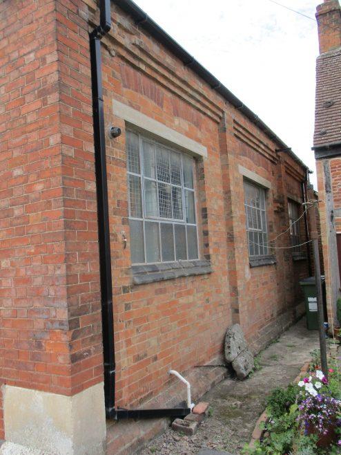 side elevation of first Huncote Primitive Methodist chapel | Christopher Hill 2016