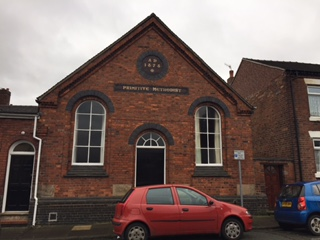 Blurton Primitive Methodist Chapel, Bourne Street.