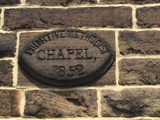 1852 Date stone. | Rev. David Leese