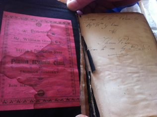 Bible given to William Glass - see comment below | Mark Pook