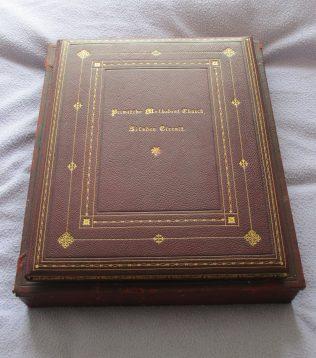 Book presented by Silsden circuit | Ian Matthews