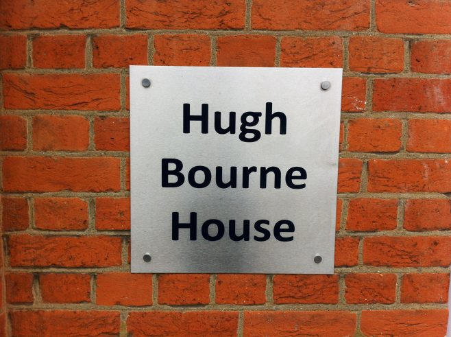 2017 nameplate on former Norbiton Primitive Methodist chapel   Christopher Hill October 2017