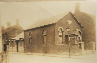 Rugeley Primitive Methodist chapel | Englesea Brook Museum picture and postcard collection