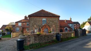 Briston Primitive Methodist chapel   Picture supplied by Glyn Constantine - November 2017