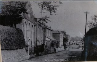 Reepham Primitive Methodist chapel   Picture supplied by Glyn Constantine, November 2017