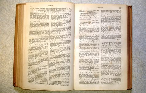 Index to Primitive Methodist Magazine 1836