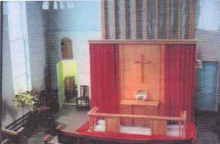 The interior in the 1970s   From