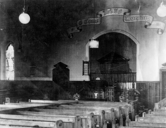 Interior, Coldwell Street PM Chapel, Felling | Bede Circuit Archive Collections