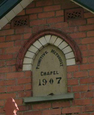 Ivington PM Chapel Wall Plaque | R Beck