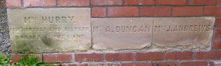 Ivington PM Chapel, foundation stones left side | R Beck