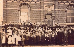 Westwoodside Sunday school, circa 1920's | Rev. David Leese