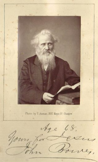 Frontispiece to The Autobiography or History of the Life of John Bowes, Glasgow, 1872   Stephen Hatcher