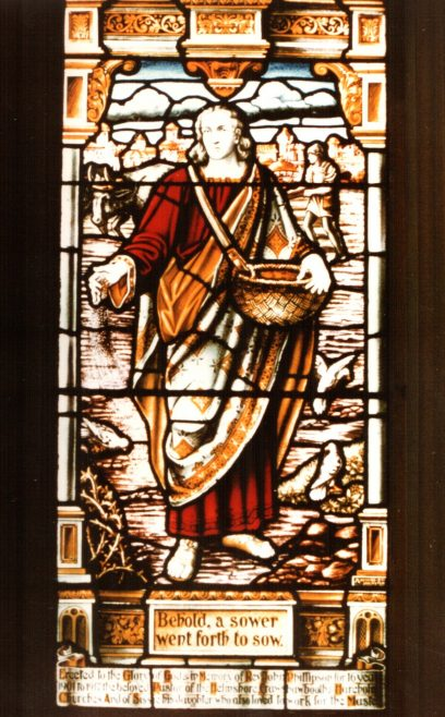 This window in Haslingden Primitive Methodist chapel was dedicated to the memory of John Phillipson and his daughter Sarah (Sissie). | Picture provided by Rebecca in Malta