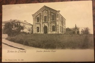 Kirton in Lindsey Primitive Methodist Chapel, Lincolnshire | postcard in collection of Revd Steven Wild