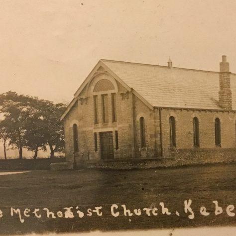 Kaber Primitive Methodist Chapel   old postcard shared by Steven Wild