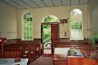 inside Primitive methodist Chapel Kelsale, Suffolk | Anne Gentleman