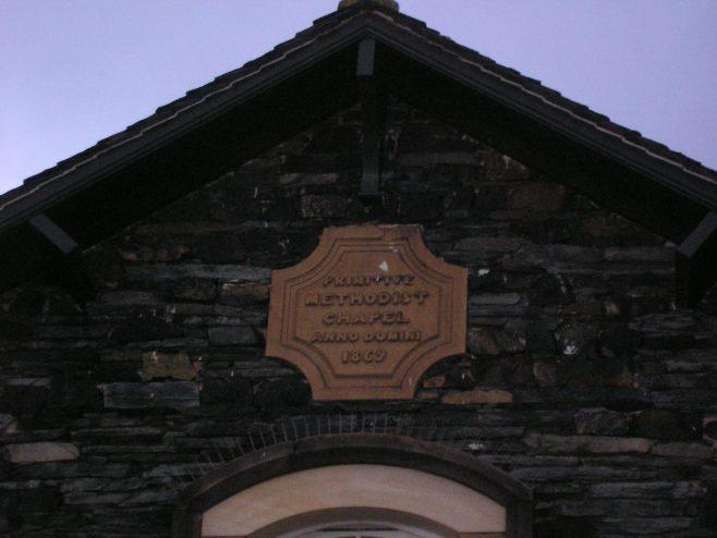 Keswick, PM Chapel, NewStreet, date plaque, 09.11.2013 | G W Oxley