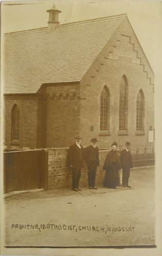 Kingsley Primitive Methodist chapel | Englesea Brook Museum picture and postcard collection