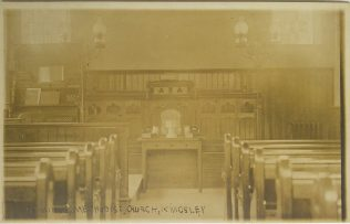 interior of Kingsley Primitive Methodist chapel | Englesea Brook Museum picture and postcard collection