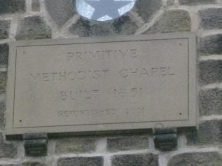 Knaresborough Primitive Methodist Chapel 1854