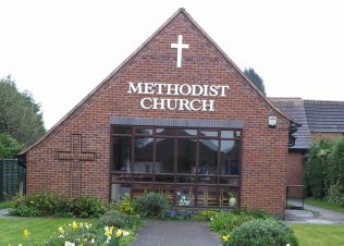 The current Knightthorpe Methodist Church, Loughborough | Christopher Hill