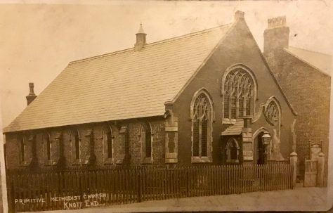 Knot End on Sea Primitive Methodist Chapel, Lancashire