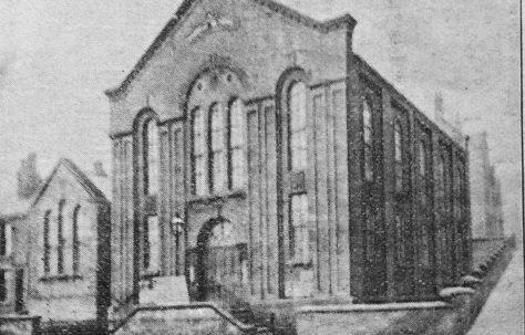 Sheffield Langsett Road Primitive Methodist chapel