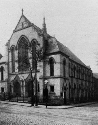 Leicester Clipstone Street later Highfields Primitive Methodist chapel | Primitive Methodist Conference Handbook 1907