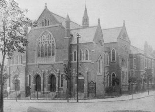 Leicester; Hinkley Road Primitive Methodist Church.  This was one of the chapels used during the 1907 Primitive Methodist Conference, held in Leicester | Primitive Methodist Conference Handbook 1907