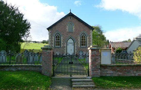 Lingen Primitive Methodist Chapel and Graveyard