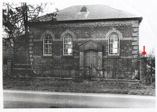 Photo 2. Little Driffield Primitive Methodist Chapel   By kind permission of the owner of Chapel House in 2009