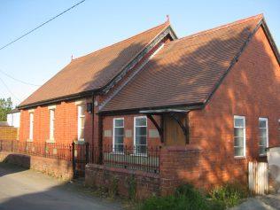 Llandrinio Primitive Methodist Chapel Powys, Wales