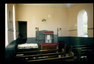 Interior of chapel in 2006 | David Hill