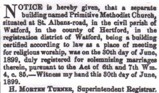 London Gazette, 7 July 1899