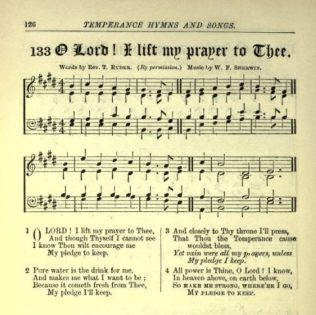 Lord I lift my prayer | from Hymns and songs for Bands of Hope