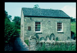 Exterior of chapel in 1992 | David Hill
