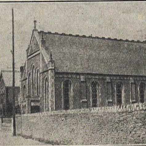 Lower Stratton Primitive Methodist chapel south side | Organ appeal leaflet