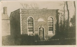 Lower Stratton first Primitive Methodist chapel before conversion into houses | Hill family collection