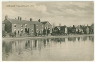 Madeley Primitive Methodist chapel with Madeley Pool. | Englesea Brook Museum picture and postcard collection