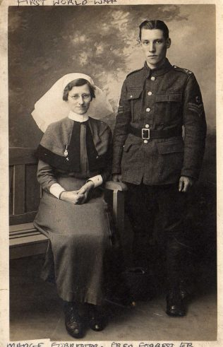 Maggi Forrester and her brother Fred (Royal Army Medical Corps)