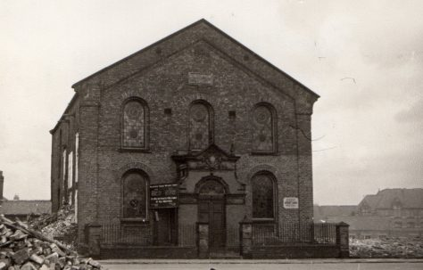 Sunderland; Mainsforth Terrace PM Chapel