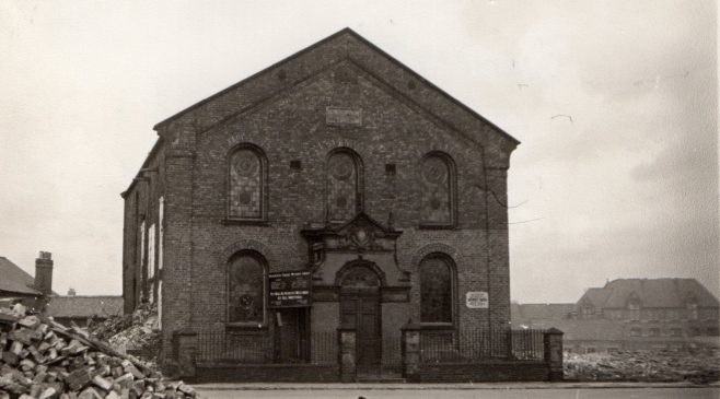 Mainsforth Terrace PM Chapel, Sunderland (Feb 1961) | Newcastle upon Tyne District Archives