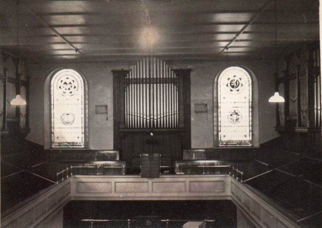 Interior, Mainsforth Terrrace PM Chapel, Sunderland | Newcastle upon Tyne District Archives