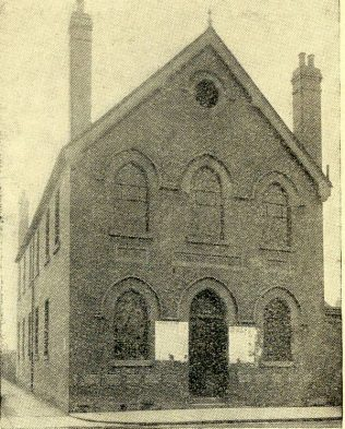 Manchester Road Primitive Methodist chapel, Swindon | Swindon Centenary Synod Handbook 1925